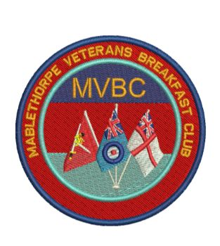 Mablethorpe Veterans Breakfast Club Embroidered Badge